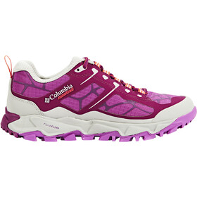 Columbia Trans Alps II Zapatillas Mujer, dark raspberry/red camellia